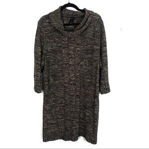Lane Bryant sweater dress tunic length O9
